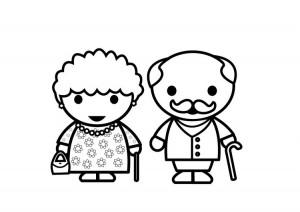 abuelos DIBUJO