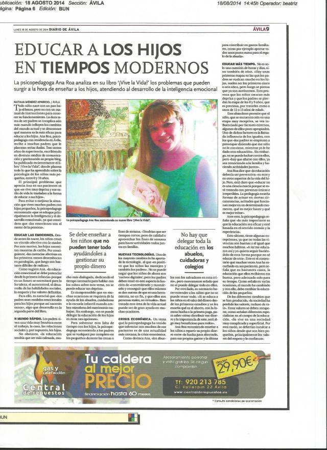 Escaner Pdf Diario de Ávila