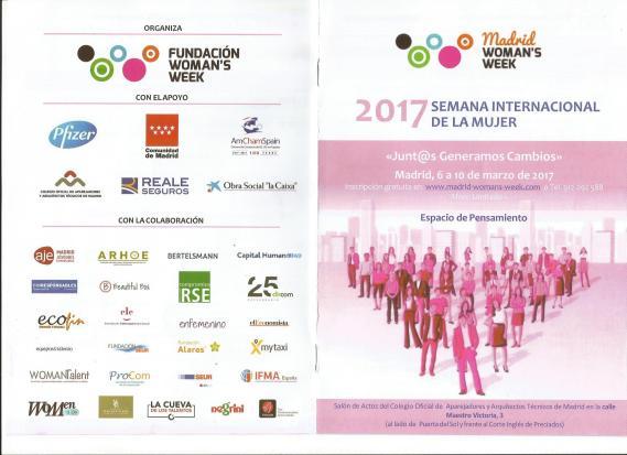 Programa Semana de la Mujer 2017