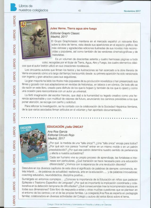libro en boletín CDL