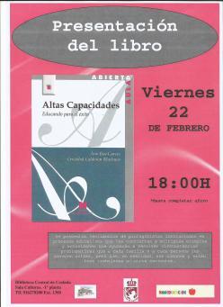 Cartel biblioteca Coslada