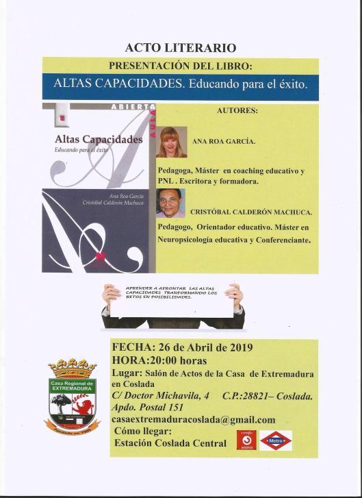 Cartel Casa Extremadura